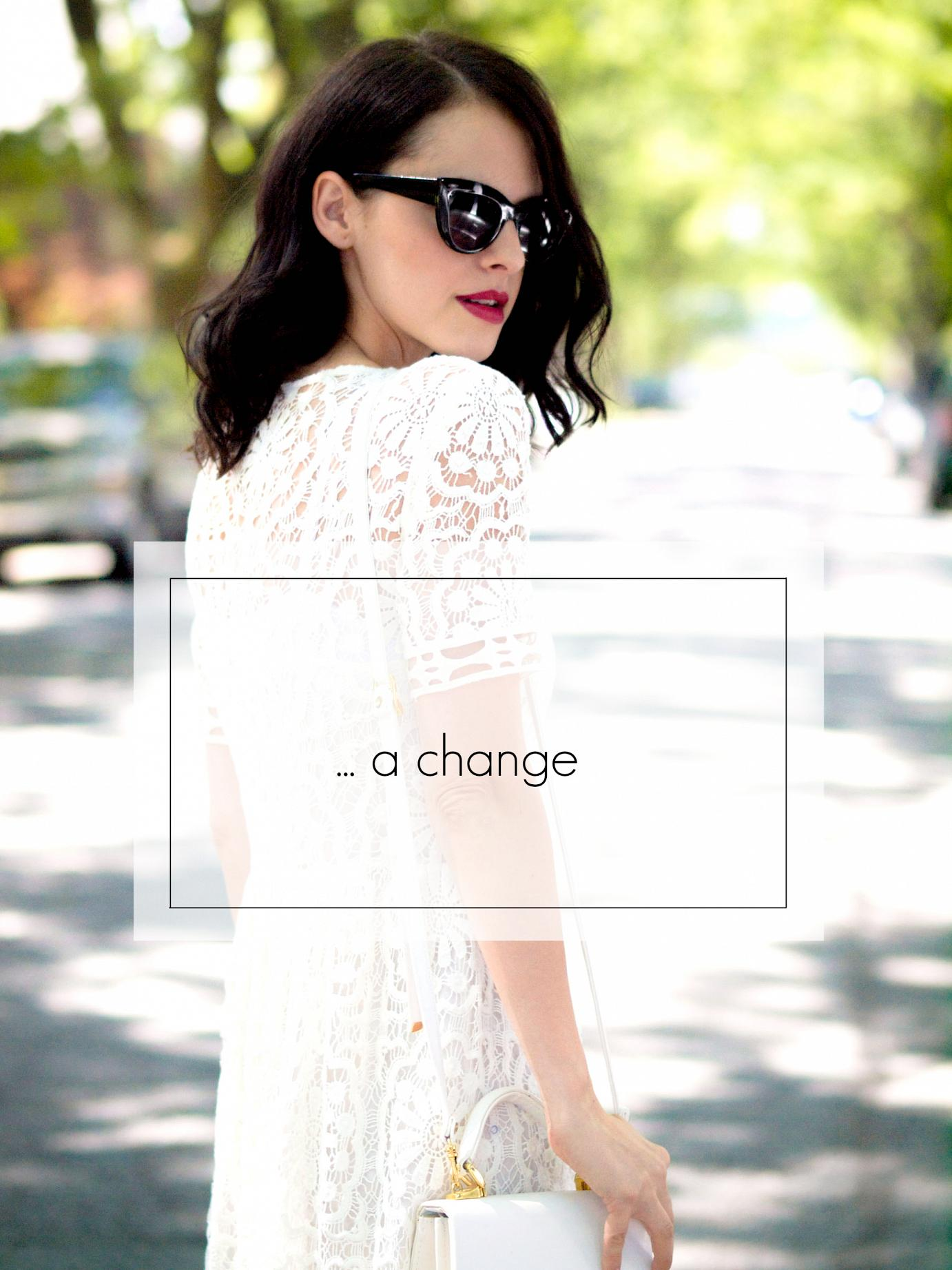 bittersweet colours, white crochet dress, summer dress, ted baker, floral printed shoes, vintage bag, street style, asos sunglasses, eye cat sunglasses